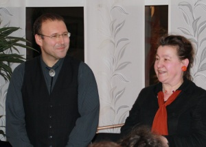 Thomas Waldherr und Sigrid Zabel, Foto: Hölzl