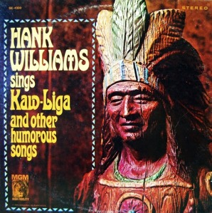 Hank Williams_Sings Kaw-Liga and Other Humorous Songs_LP_front